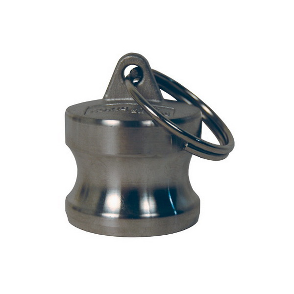 Dixon® 316 Stainless Steel Cast Type DP Cam and Groove Dust Plug, Import