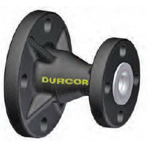 Durcor® DBF-PT-06-064-048 Composite Lined PTFE Class 150 Concentric Reducer, 4 in x 3 in, Flanged
