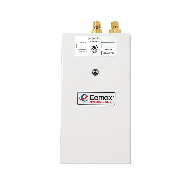 Eemax™ SP3512 ABS Vertical Mount Tankless Electric Water Heater, 3.5 kW, 3/8 in Compression