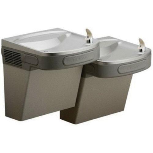 Elkay® EZSTL8LC Light Gray Granite Stainless Steel Wall Mount Barrier Free Water Cooler, 115 V, 5 A, 8 gph