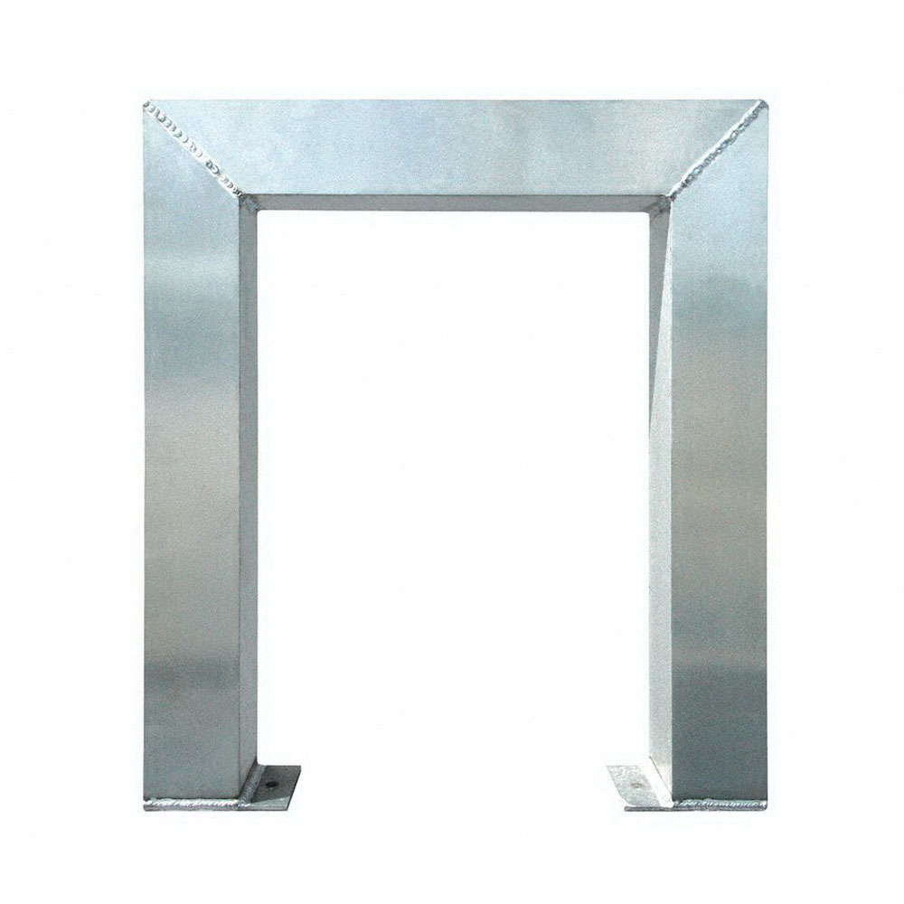 ErectaStep® 11380 Aluminum 3-Step Tower Support for 11394 Platform Unit, 26 in L x 4 in W x 30 in H, 50 lb