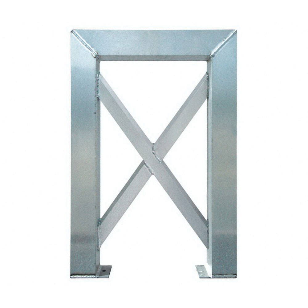 ErectaStep® 11381 Aluminum 4-Step Tower Support for 11394 Platform Unit, 26 in L x 4 in W x 39 in H, 50 lb