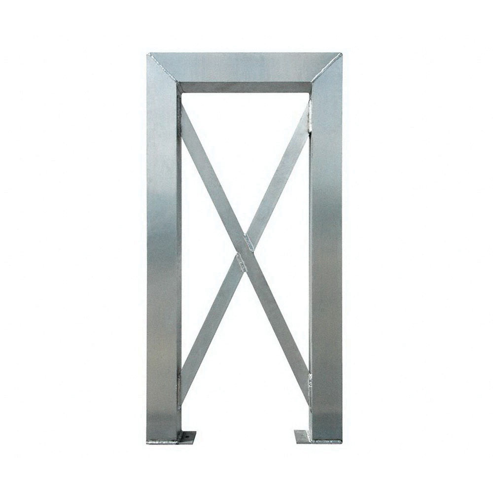 ErectaStep® 11382 Aluminum 5-Step Tower Support for 11394 Platform Unit, 26 in L x 4 in W x 48 in H, 50 lb