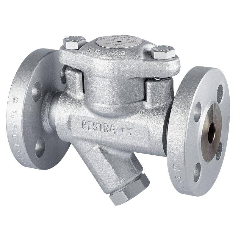 Gestra RHOMBUS line® MK45215NB Carbon Steel Thermostatic Steam Trap, 1/2 in, Flanged, 32 bars, 482 deg F