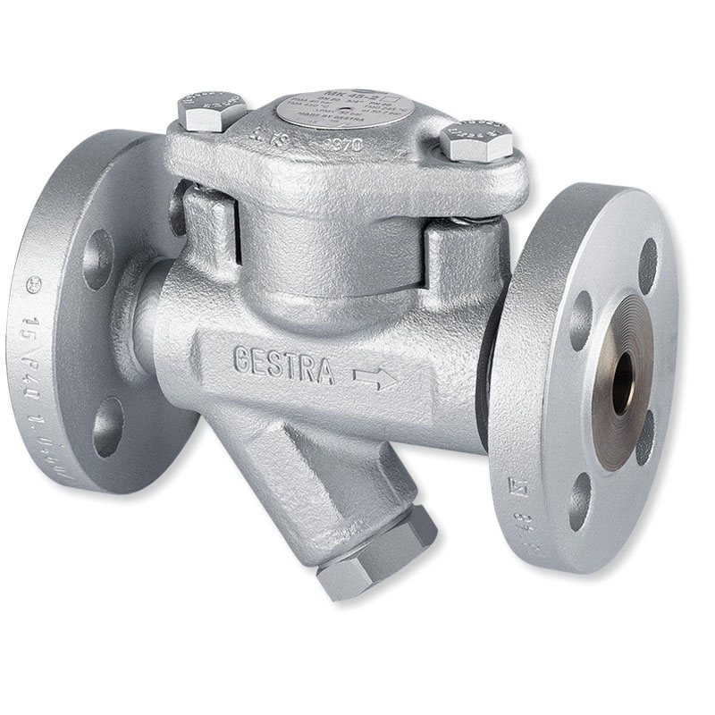 Gestra® Carbon Steel Thermostatic Steam Trap, Flanged, 32 bars, 400 deg C
