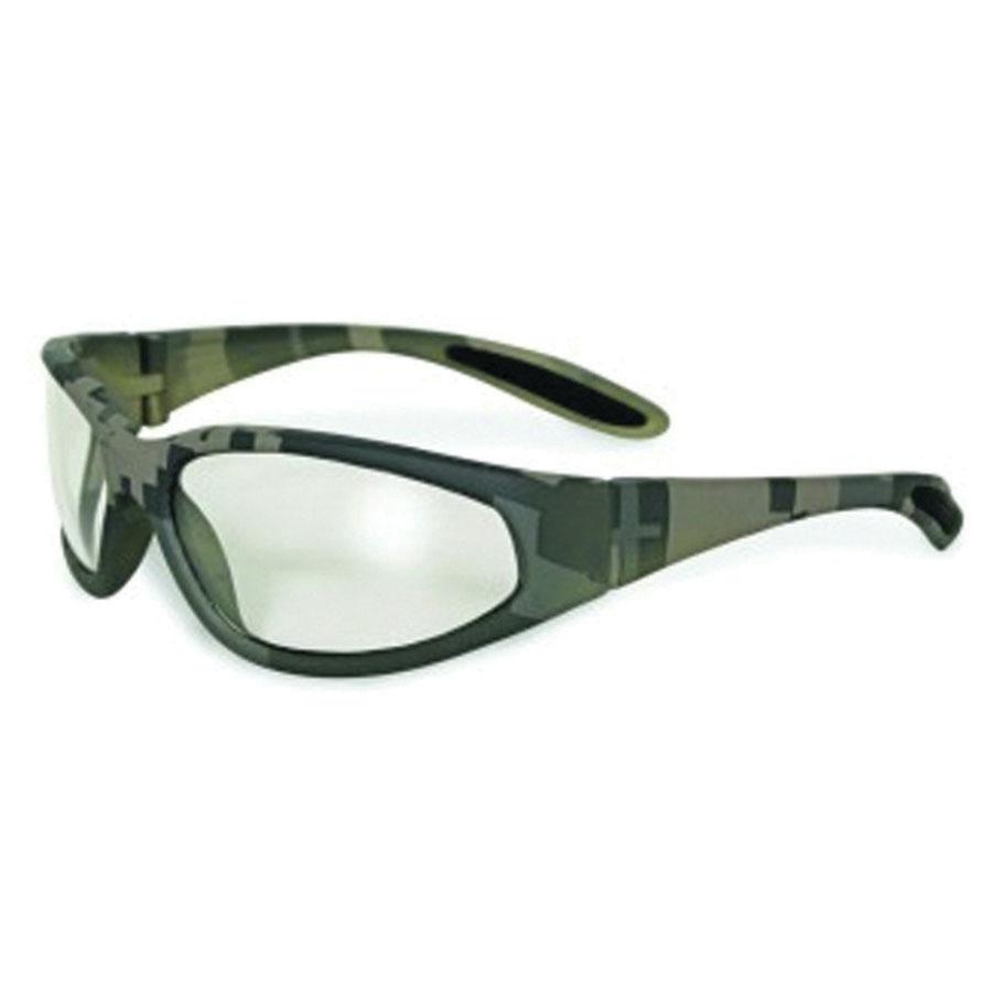 Global Vision® DIGITALCAMO-CL Nylon/Polycarbonate Safety Glasses, Clear Lens