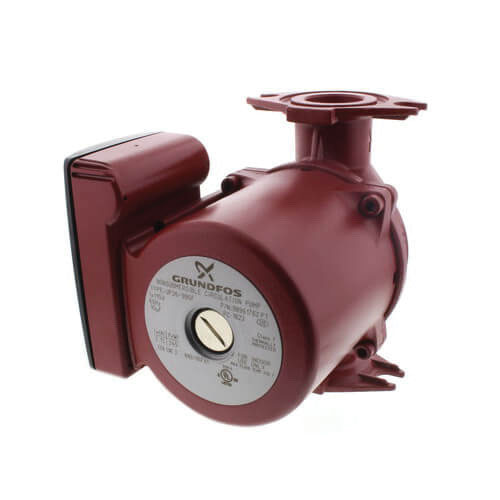 Grundfos UP26-99SF Cast Iron 1-Phase Re-Circulator Pump, 0 - 46 gpm, 0.166 hp, 3000 rpm