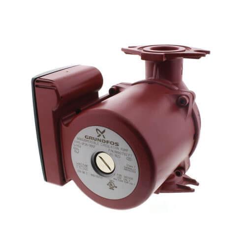 Grundfos UP26-99SF Cast Iron 1-Phase Re-Circulator Pump, 0 - 46 gpm, 0.166 hp, 3000 rpm