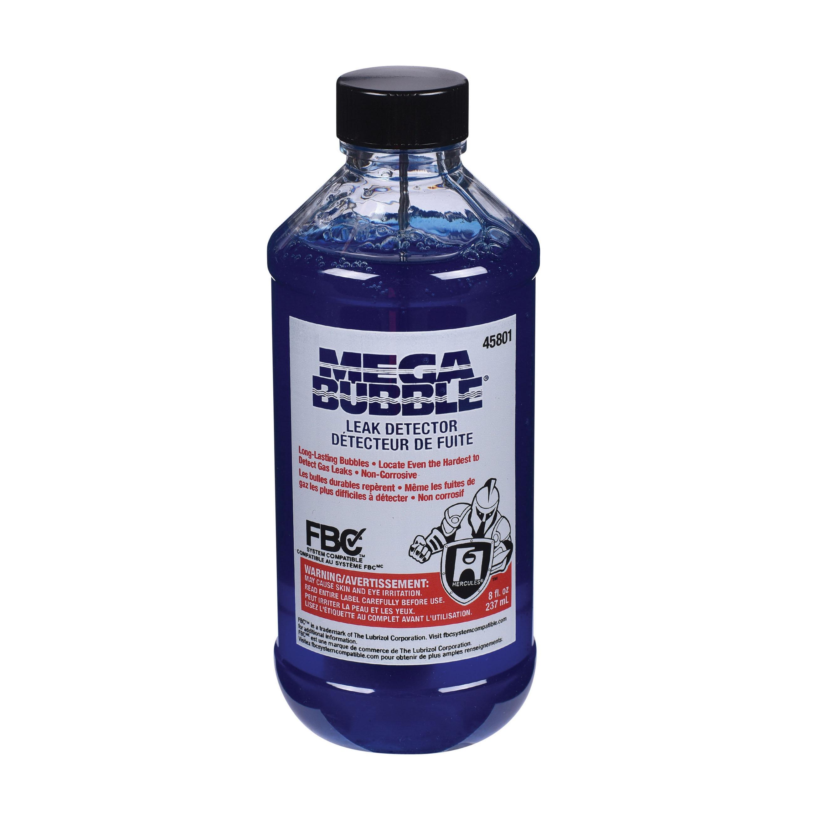 Hercules® MEGABUBBLE® 45801 Leak Detector, 0.5 pt Dauber Bottle, Blue