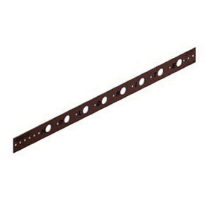 Holdrite® 101-18 Copper Bonded Cold Rolled Steel Flat Bracket, 1/2 in CTS, 20 in L