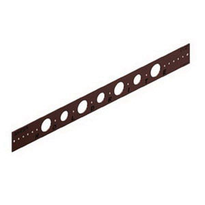 Holdrite® 102-26 Copper Bonded Cold Rolled Steel Flat Bracket, 3/4 - 1 in CTS, 26 in L