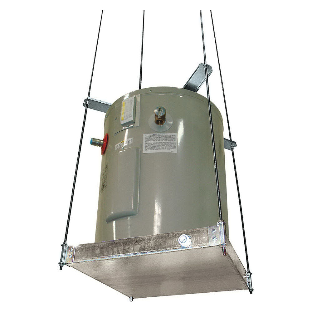Holdrite® Quick Stand™ 40-SWHP Galvanized Steel Suspended Platform for Up to 375 lb Water Heater and Equipment