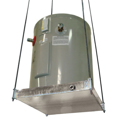 Holdrite® Quick Stand™ 50-SWHP-M Galvanized Steel Suspended Platform for Up to 600 lb Water Heater and Equipment