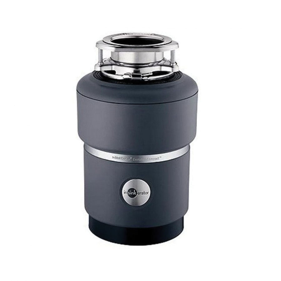 Insinkerator® 77218 Enamel Black Stainless Steel Grind Continuous Food Waste Disposer, 0.75 hp, 1725 rpm