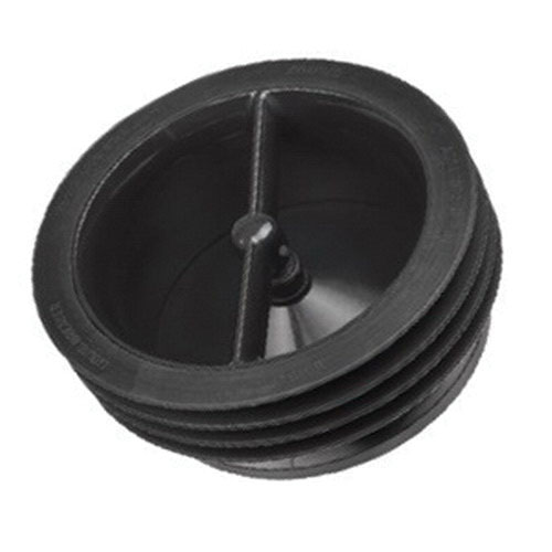 IPS® Green Drain™ GD102 Black ABS Frame Waterless Trap Seal for Outlet Connection of Floor Drain Bodies, 2 in