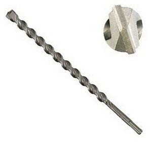 Irwin® Speed Plus Hammer™ 322047 Chrome Vanadium Shaft Round/Straight Shank Standard Tip Drill Bit, 3/4 in, 8 in L