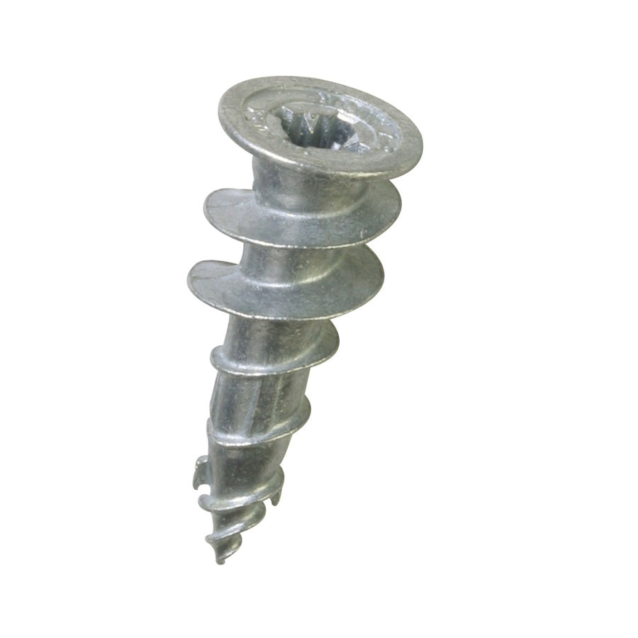 ITW Buildex 5000902 Die Cast Zinc Medium Duty Self Drilling Drywall Anchor, 1/2 in x 1-5/8 in, 100/BX