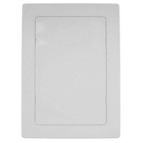 Jones Stephens™ PlumBest™ A04006 White ABS Snap Ease Access Panel, 9 in x 9 in x 5/8 in, Domestic