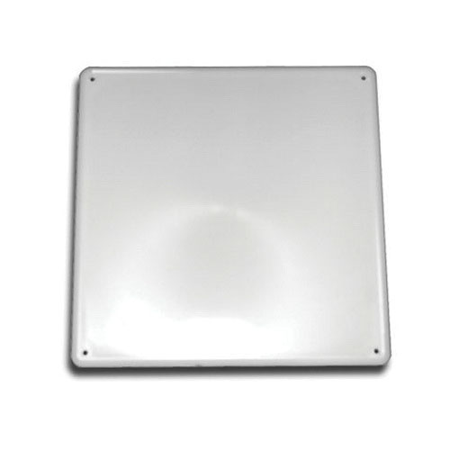 Jones Stephens™ PlumBest™ A04012 White ABS Snap Ease Access Panel, 12 in x 12 in, Domestic