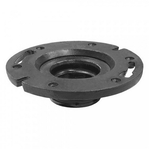 Jones Stephens™ C47440 Cast Iron Two Finger Closet Flange, 4 in