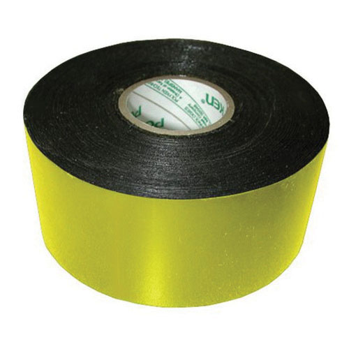Jones Stephens™ PlumBest™ LTConnections™ T16004 Pipe Wrap Tape, 4 in W x 100 ft L x 12 mil T, Yellow