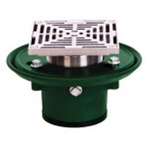 JOSAM Super-Flo® 5S-NB Nickel Bronze Adjustable Square Strainer, 3-3/4 in Pipe