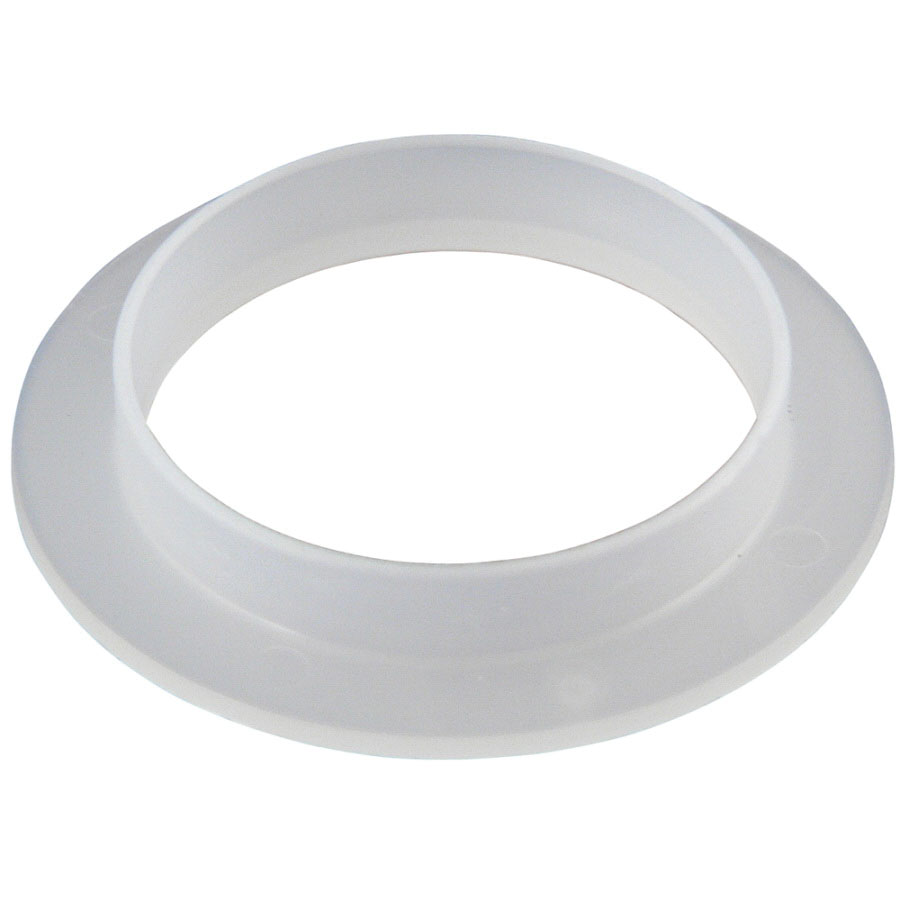 Keeney 50879K White Plastic Tailpiece Polywasher, 1-1/2 in