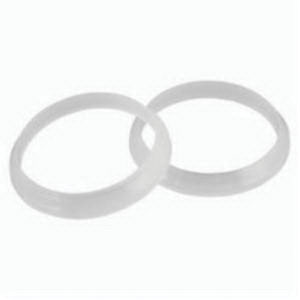 Keeney 57 White Polypropylene Bevelled Polywasher, 1-1/4 in Slip Joint, Domestic