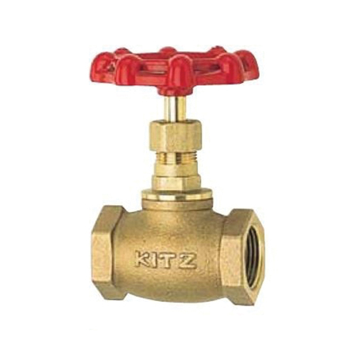 KITZ 09-012 Cast Bronze Globe Valve, 1/2 in, Threaded, 300 psi