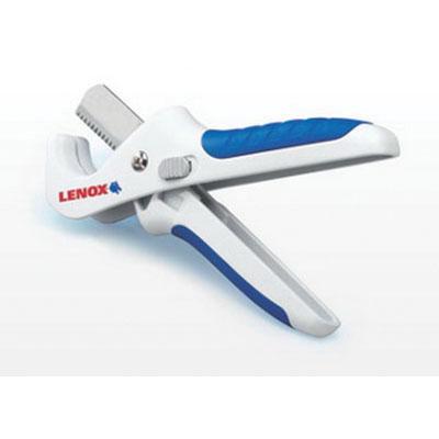 Lenox® 12121S1 Blue/White Plastic Manual/Scissor Tubing Cutter, 1-5/16 in, 8-1/2 in L