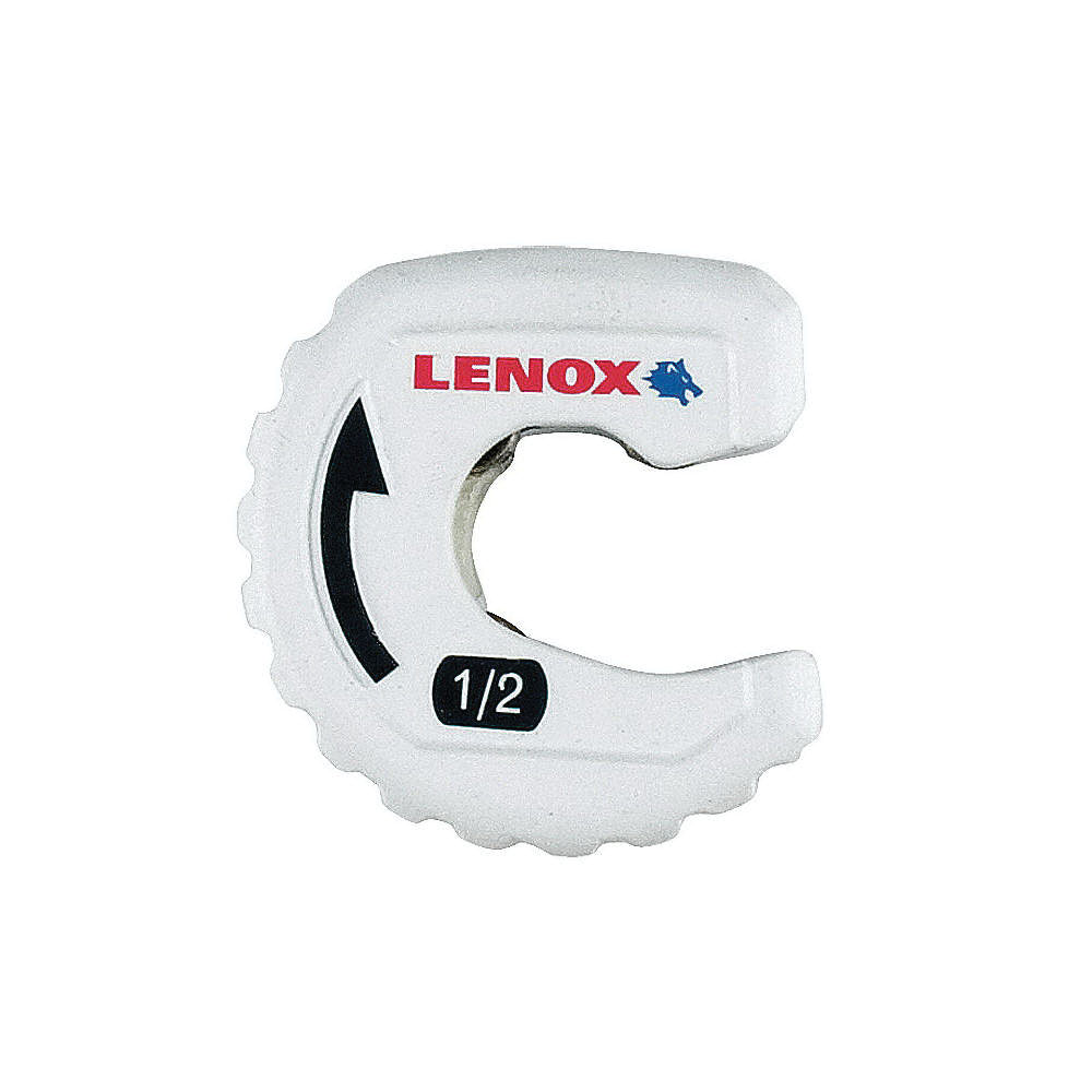 Lenox® 14830TS12 White Steel Manual Tight Spaces Tubing Cutter, 1/2 in, 3 in L