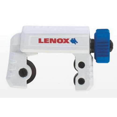 Lenox® 21013TC258 Blue/White Tight Spaces Tubing Cutter, 1/4 - 2-5/8 in