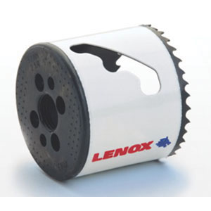 Lenox® Speed Slot® 30080-80L Bi-Metal Hole Saw, 5 in, 30 - 90 rpm
