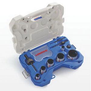 Lenox® Speed Slot® 30808600P Bi-Metal 10-Piece Plumbers Hole Saw Kit