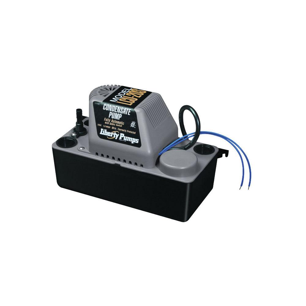 Liberty Pumps® LCU-20S 1-Phase Automatic Condensate Pump, 1.75 gpm, 0.03 hp