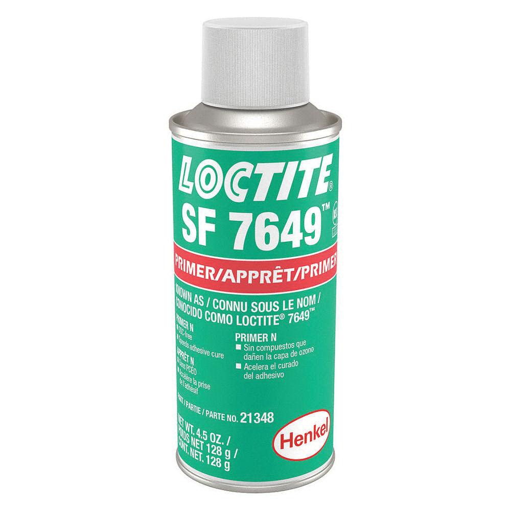 Loctite® 21348 Primer, 4.5 oz Aerosol, Green