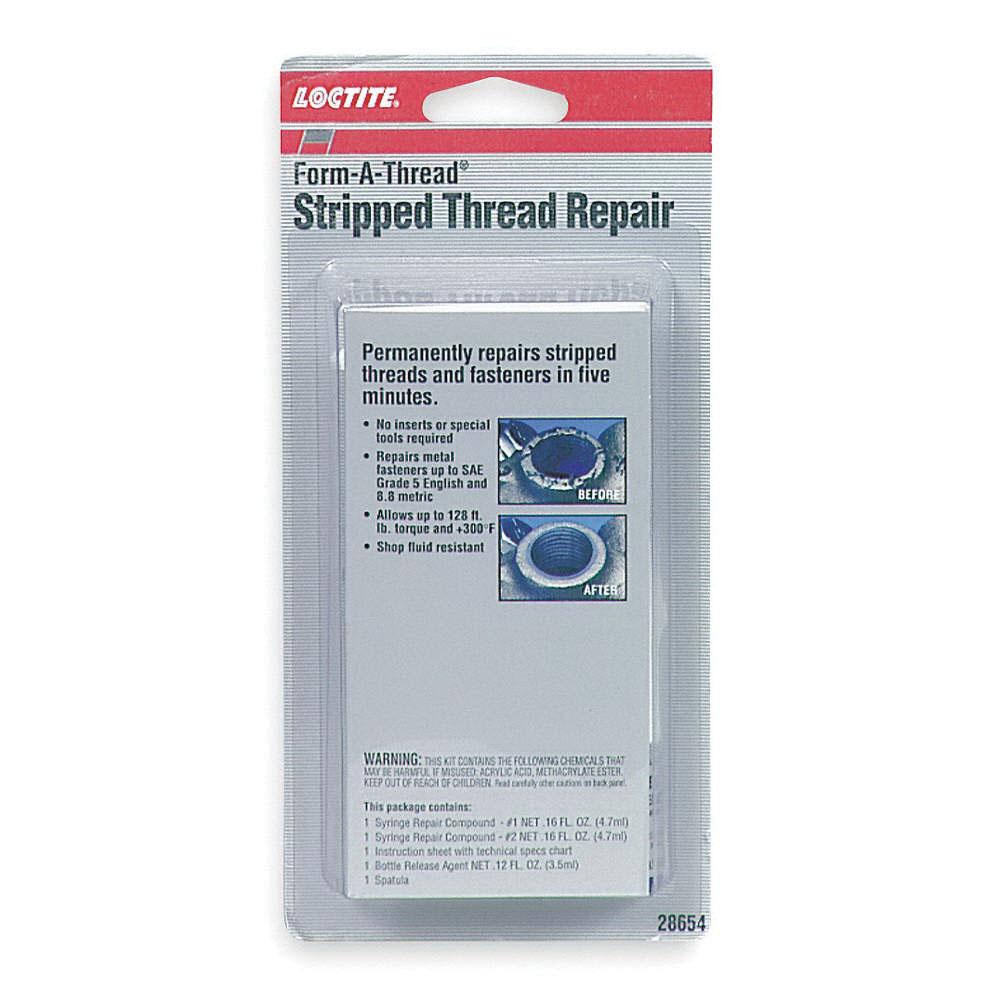 Loctite® Form-A-Thread™ 28654 Gray Stripped Thread Repair Kit