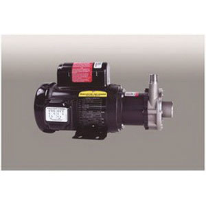 MARCH PUMPS TE-5S-MD 316 Stainless Steel 1-Phase Mag-Drive Centrifugal Pump, 15.9 - 18 gpm, 0.2 hp, 2850 - 3450 rpm