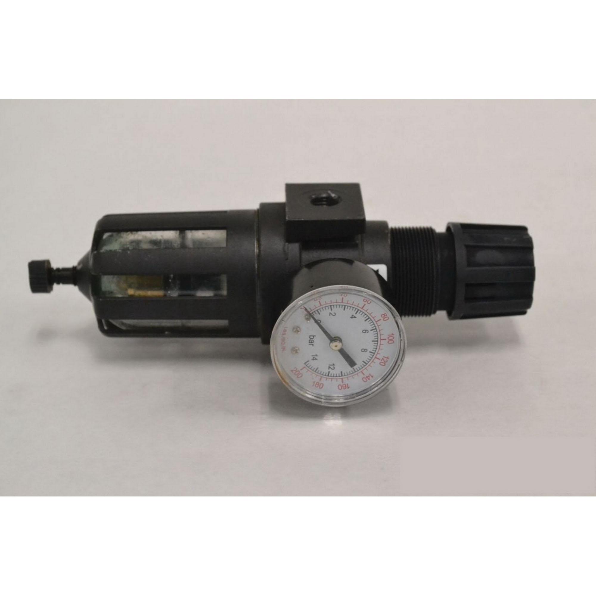 Master Pneumatic Guardsman CFR60-4 Zinc Integral Filter/Regulator, 5 micron, 150 psig, 40 - 125 deg F