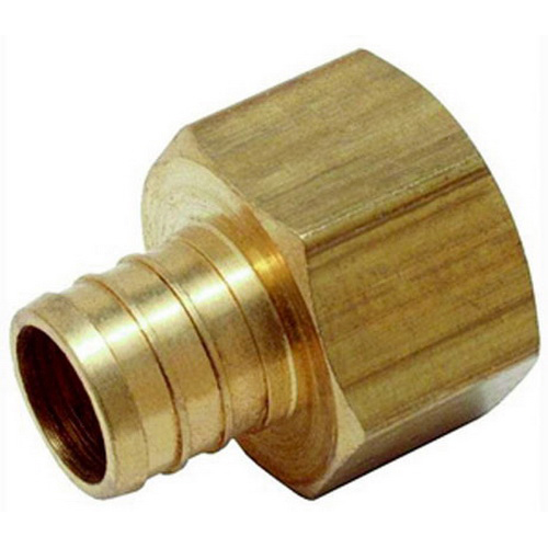 Matco-Norca™ PXFA0404LF Brass Adapter, 3/4 in, PEX Barb x FIP