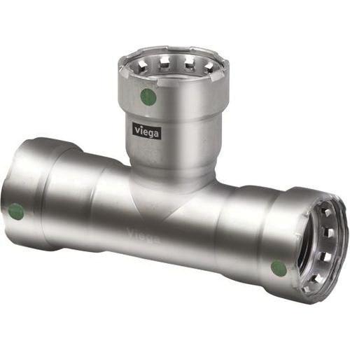 MegaPress® 90120 316 Stainless Steel Tee, 1-1/2 in, Press, Import