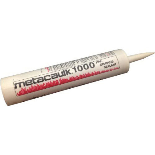 Metacaulk® 66640 Intumescent Firestop Sealant, 10.3 oz Cartridge, Red