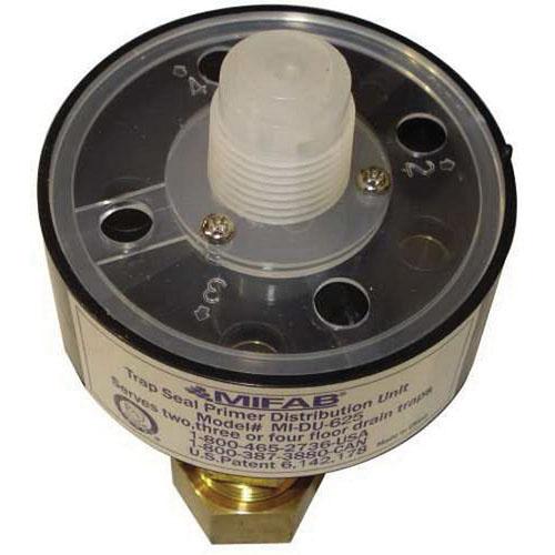 MIFAB® MI-DU-625 Antique Brass ABS Trap Seal Primer Distribution Unit, 1/2 in, MIP