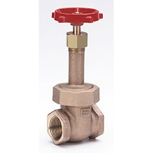 Milwaukee Valve 1151 Bronze Rising Stem Gate Valve, NPT, 300 psi