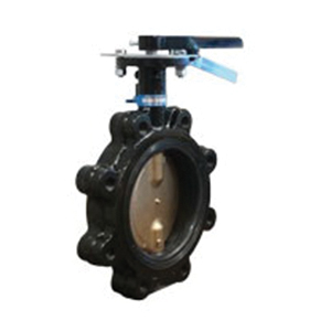 Milwaukee Valve Ultra-Pure™ ML233E Lead Free Ductile Iron Butterfly Valve, Lug, 200 psi, 0 - 180 deg F