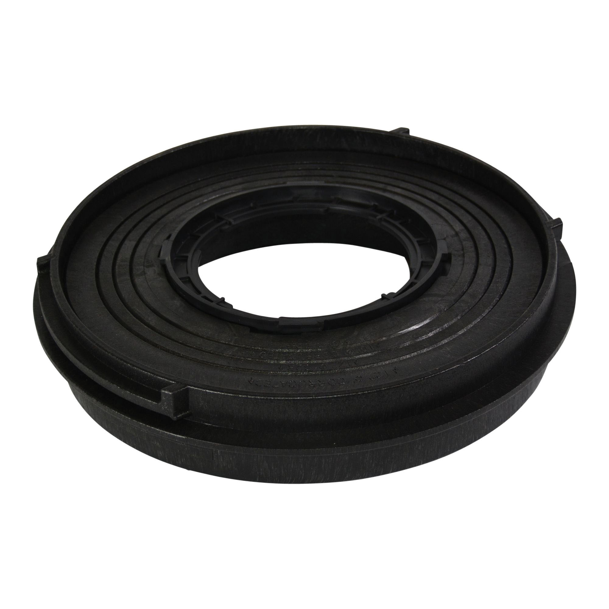 NDS® 2410 Black HDPE Universal Adapter for 3 in, 4 in, 6 in, 8 in, 10 in, 12 in Sewer and Drain Pipe