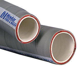 NewAge® NAFB-NW-4000 Gray Food and Dairy Beverage Grade Hose, 4 in ID x 100 ft L, 150 psi