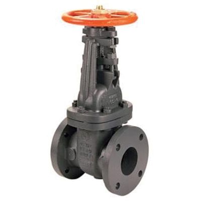 Nibco® NH24L0E Cast Iron OSY Gate Valve, 2-1/2 in, Flanged, 175 psi