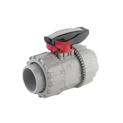 Niron Random Copolymer Polypropylene True Union Ball Valve, Socket Fusion