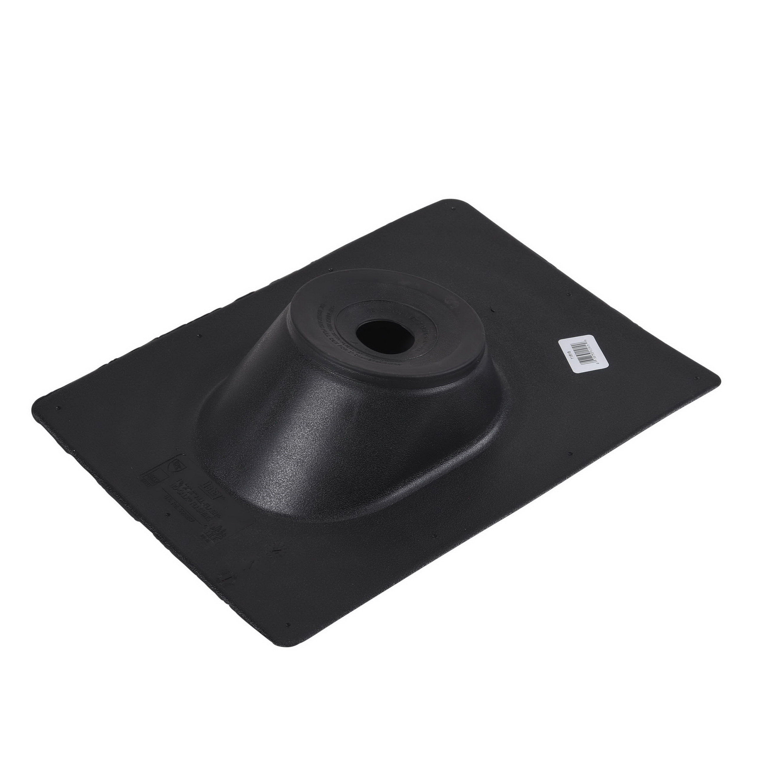 Oatey® All-Flash® No-Calk® 11919 Black Thermoplastic Base Roof Flashing, 1-1/2 - 3 in